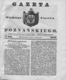 Gazeta Wielkiego Xięstwa Poznańskiego 1842.08.04 Nr179