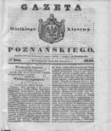 Gazeta Wielkiego Xięstwa Poznańskiego 1842.08.11 Nr185
