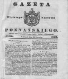 Gazeta Wielkiego Xięstwa Poznańskiego 1842.08.12 Nr186