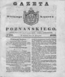 Gazeta Wielkiego Xięstwa Poznańskiego 1842.08.13 Nr187
