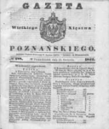 Gazeta Wielkiego Xięstwa Poznańskiego 1842.08.15 Nr188