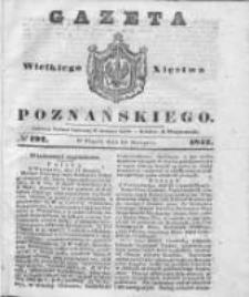 Gazeta Wielkiego Xięstwa Poznańskiego 1842.08.19 Nr192