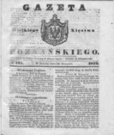 Gazeta Wielkiego Xięstwa Poznańskiego 1842.08.20 Nr193