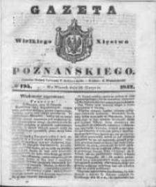 Gazeta Wielkiego Xięstwa Poznańskiego 1842.08.23 Nr195