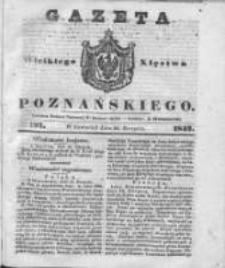 Gazeta Wielkiego Xięstwa Poznańskiego 1842.08.25 Nr197
