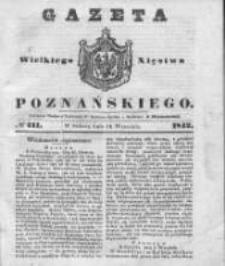 Gazeta Wielkiego Xięstwa Poznańskiego 1842.09.10 Nr211