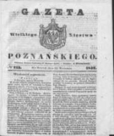 Gazeta Wielkiego Xięstwa Poznańskiego 1842.09.13 Nr213
