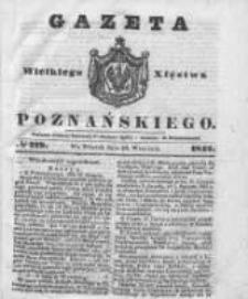 Gazeta Wielkiego Xięstwa Poznańskiego 1842.09.20 Nr219