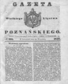 Gazeta Wielkiego Xięstwa Poznańskiego 1842.09.22 Nr221