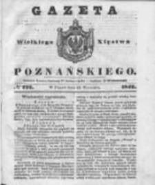 Gazeta Wielkiego Xięstwa Poznańskiego 1842.09.23 Nr222
