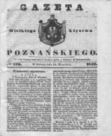 Gazeta Wielkiego Xięstwa Poznańskiego 1842.09.24 Nr223