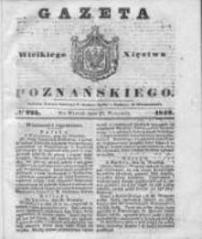 Gazeta Wielkiego Xięstwa Poznańskiego 1842.09.27 Nr225