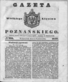 Gazeta Wielkiego Xięstwa Poznańskiego 1842.10.06 Nr233