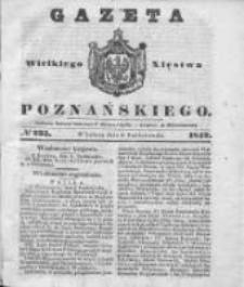 Gazeta Wielkiego Xięstwa Poznańskiego 1842.10.08 Nr235
