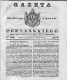 Gazeta Wielkiego Xięstwa Poznańskiego 1842.10.13 Nr239