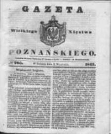 Gazeta Wielkiego Xięstwa Poznańskiego 1842.09.03 Nr205