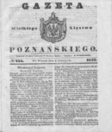 Gazeta Wielkiego Xięstwa Poznańskiego 1842.11.01 Nr255