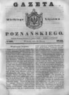 Gazeta Wielkiego Xięstwa Poznańskiego 1843.03.22 Nr69