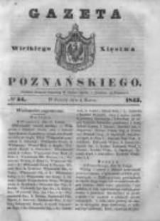Gazeta Wielkiego Xięstwa Poznańskiego 1843.03.04 Nr54