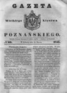 Gazeta Wielkiego Xięstwa Poznańskiego 1843.03.11 Nr60