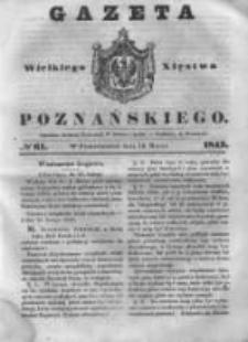 Gazeta Wielkiego Xięstwa Poznańskiego 1843.03.13 Nr61