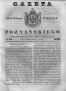 Gazeta Wielkiego Xięstwa Poznańskiego 1843.03.21 Nr68