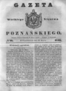 Gazeta Wielkiego Xięstwa Poznańskiego 1843.03.27 Nr73