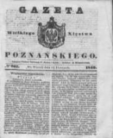 Gazeta Wielkiego Xięstwa Poznańskiego 1842.11.15 Nr267