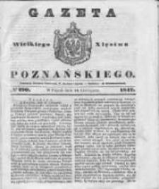 Gazeta Wielkiego Xięstwa Poznańskiego 1842.11.18 Nr270