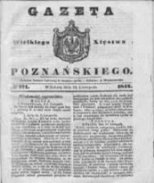 Gazeta Wielkiego Xięstwa Poznańskiego 1842.11.19 Nr271