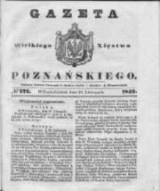Gazeta Wielkiego Xięstwa Poznańskiego 1842.11.21 Nr272