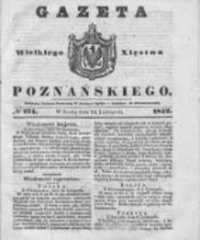Gazeta Wielkiego Xięstwa Poznańskiego 1842.11.23 Nr274