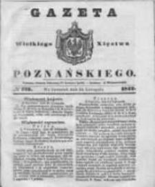 Gazeta Wielkiego Xięstwa Poznańskiego 1842.11.24 Nr275