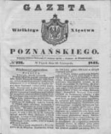 Gazeta Wielkiego Xięstwa Poznańskiego 1842.11.25 Nr276
