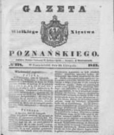 Gazeta Wielkiego Xięstwa Poznańskiego 1842.11.28 Nr278