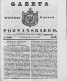 Gazeta Wielkiego Xięstwa Poznańskiego 1842.12.07 Nr286