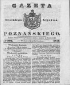 Gazeta Wielkiego Xięstwa Poznańskiego 1842.12.28 Nr303