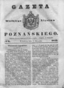 Gazeta Wielkiego Xięstwa Poznańskiego 1843.01.07 Nr6