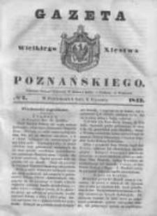 Gazeta Wielkiego Xięstwa Poznańskiego 1843.01.09 Nr7
