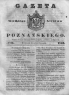 Gazeta Wielkiego Xięstwa Poznańskiego 1843.01.14 Nr12
