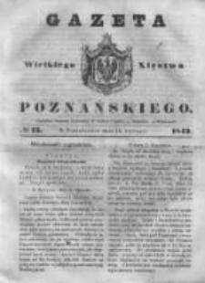 Gazeta Wielkiego Xięstwa Poznańskiego 1843.01.16 Nr13