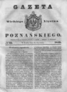 Gazeta Wielkiego Xięstwa Poznańskiego 1843.01.18 Nr15