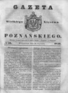 Gazeta Wielkiego Xięstwa Poznańskiego 1843.01.19 Nr16