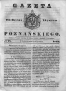 Gazeta Wielkiego Xięstwa Poznańskiego 1843.01.21 Nr18