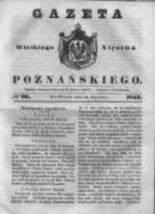 Gazeta Wielkiego Xięstwa Poznańskiego 1843.01.24 Nr20