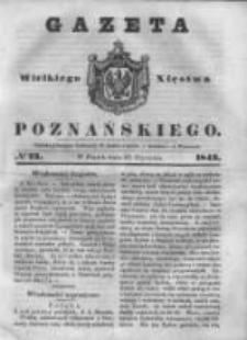 Gazeta Wielkiego Xięstwa Poznańskiego 1843.01.27 Nr23