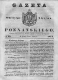 Gazeta Wielkiego Xięstwa Poznańskiego 1843.02.01 Nr27