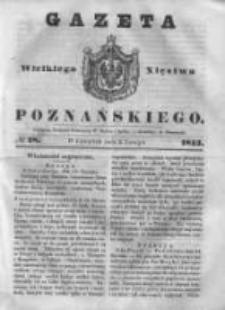 Gazeta Wielkiego Xięstwa Poznańskiego 1843.02.02 Nr28