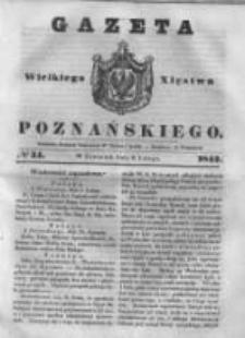 Gazeta Wielkiego Xięstwa Poznańskiego 1843.02.09 Nr34