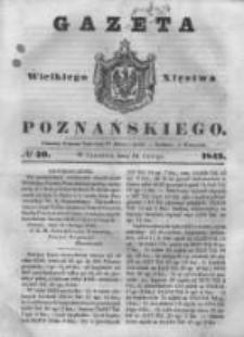 Gazeta Wielkiego Xięstwa Poznańskiego 1843.02.16 Nr40